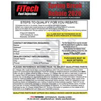FiTech Fuel Injection Consumer Spring Break Rebate